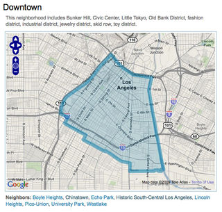 MAPPING LA Downtown