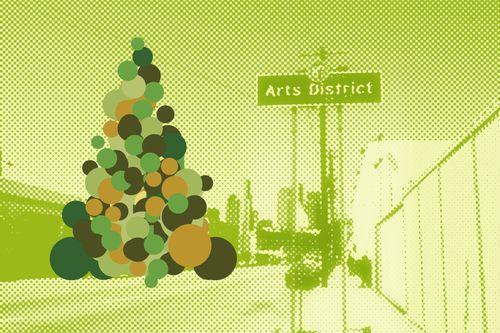 Arts district xmas