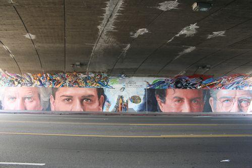 Eyes mural