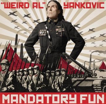WEIRD AL MANDATORY FUN cover
