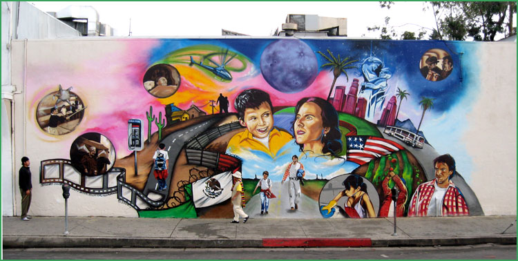 essay about mural