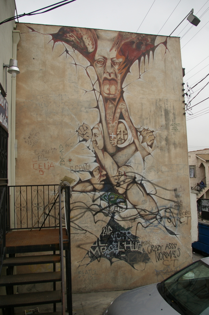Graffiti wall rubric - Graffiti